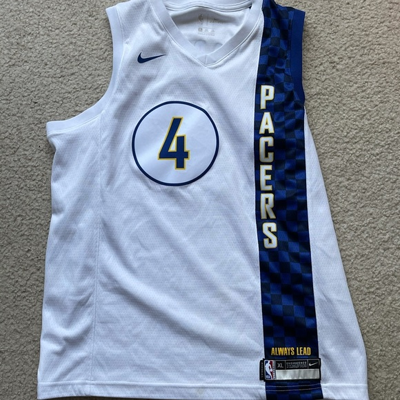 Rare pacers jersey. Victor Oladiapo.